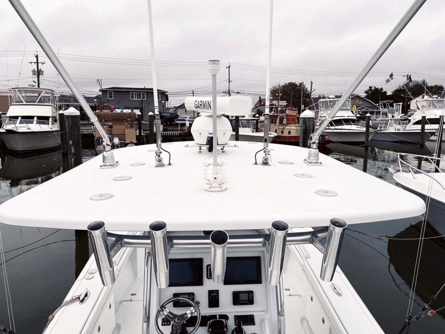 Yellowfin-32 Center Console 2017-Obsession Cape May-New Jersey-United States-T-Top With Rod Holders-1484664 | Thumbnail