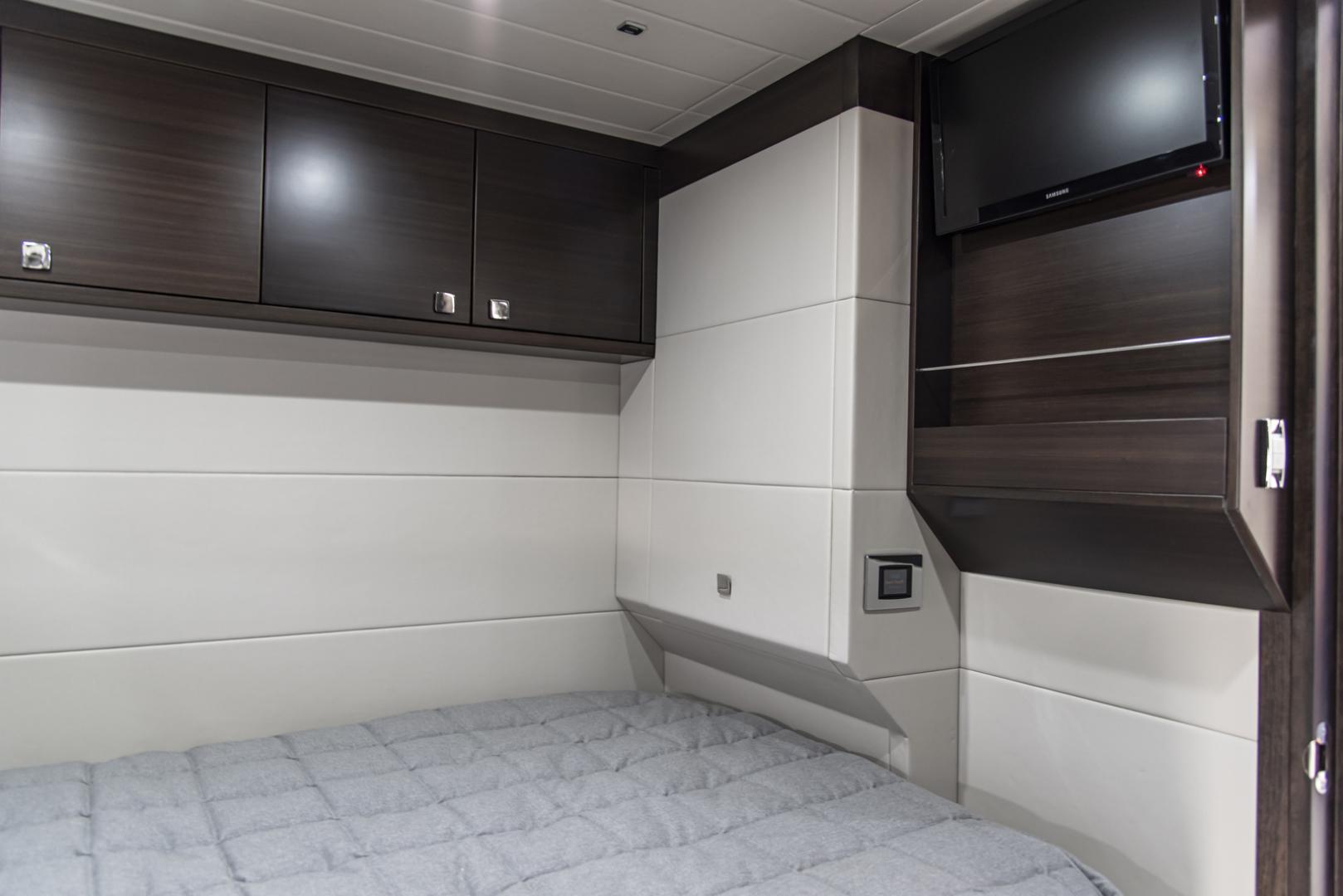 Neptunus-Motor Yacht Express 2018-LIQUID WISDOM Grand Haven-Michigan-United States-Stbd guest cabin looking inboard-1484991 | Thumbnail