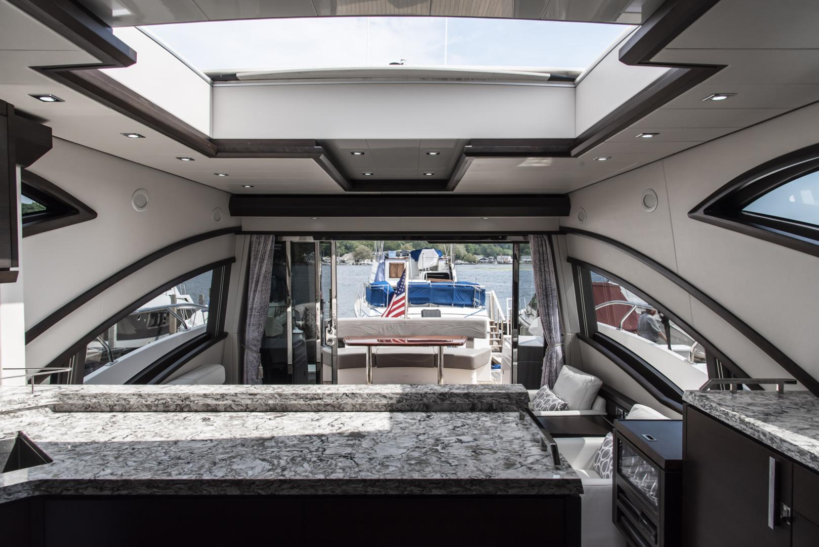 Neptunus-Motor Yacht Express 2018-LIQUID WISDOM Grand Haven-Michigan-United States-Salon looking aft-1484962 | Thumbnail