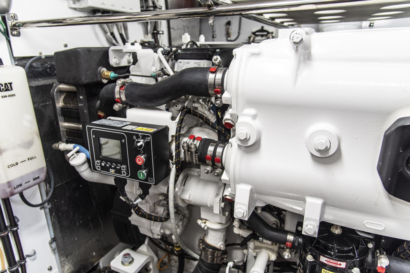 Neptunus-Motor Yacht Express 2018-LIQUID WISDOM Grand Haven-Michigan-United States-Stbd engine detail-1485027 | Thumbnail