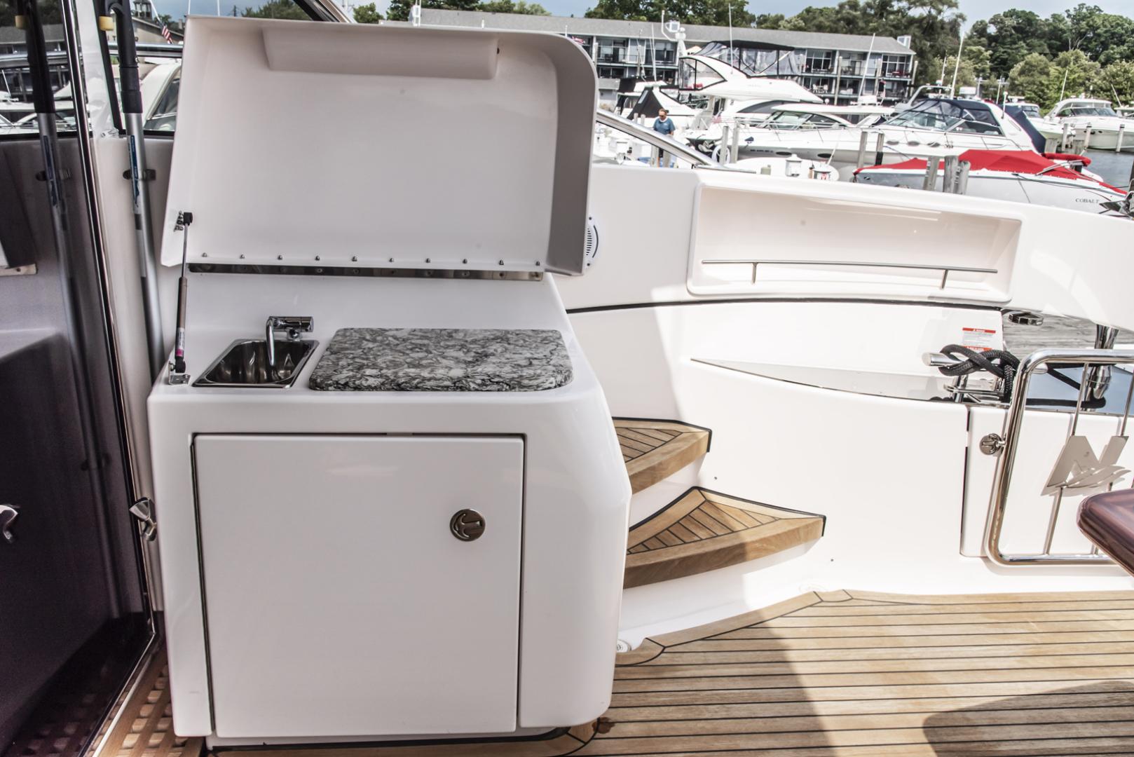 Neptunus-Motor Yacht Express 2018-LIQUID WISDOM Grand Haven-Michigan-United States-Aft deck sink-1485008 | Thumbnail