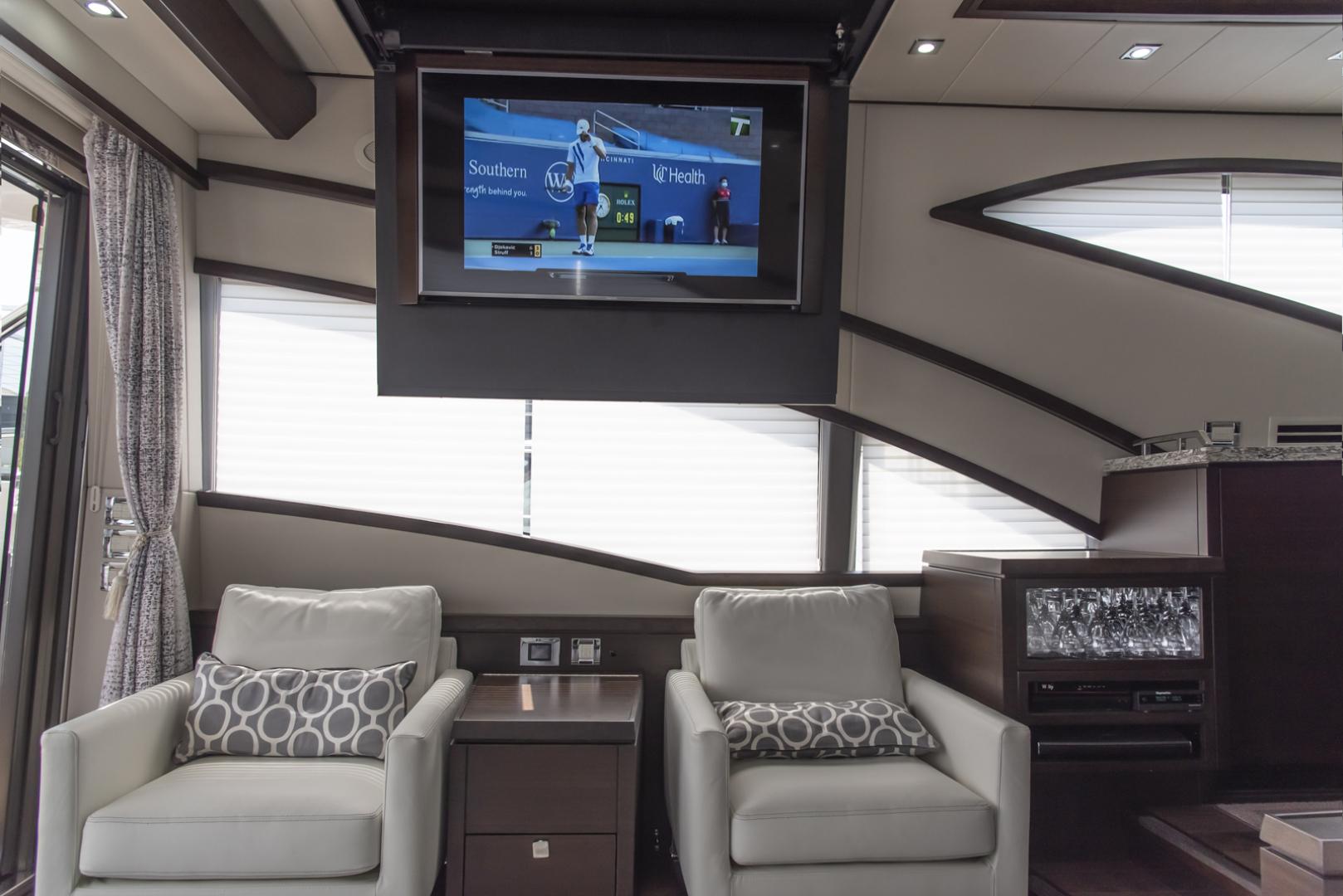 Neptunus-Motor Yacht Express 2018-LIQUID WISDOM Grand Haven-Michigan-United States-Salon TV-1484955 | Thumbnail