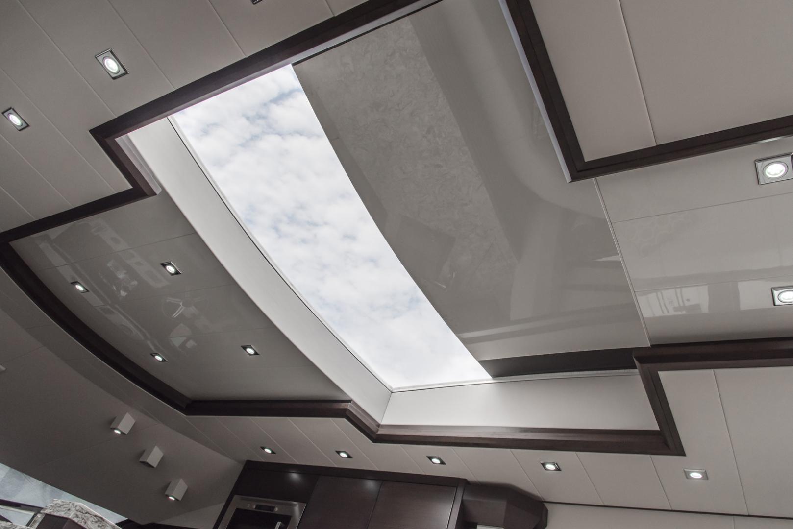 Neptunus-Motor Yacht Express 2018-LIQUID WISDOM Grand Haven-Michigan-United States-Salon sunroof-1484959 | Thumbnail
