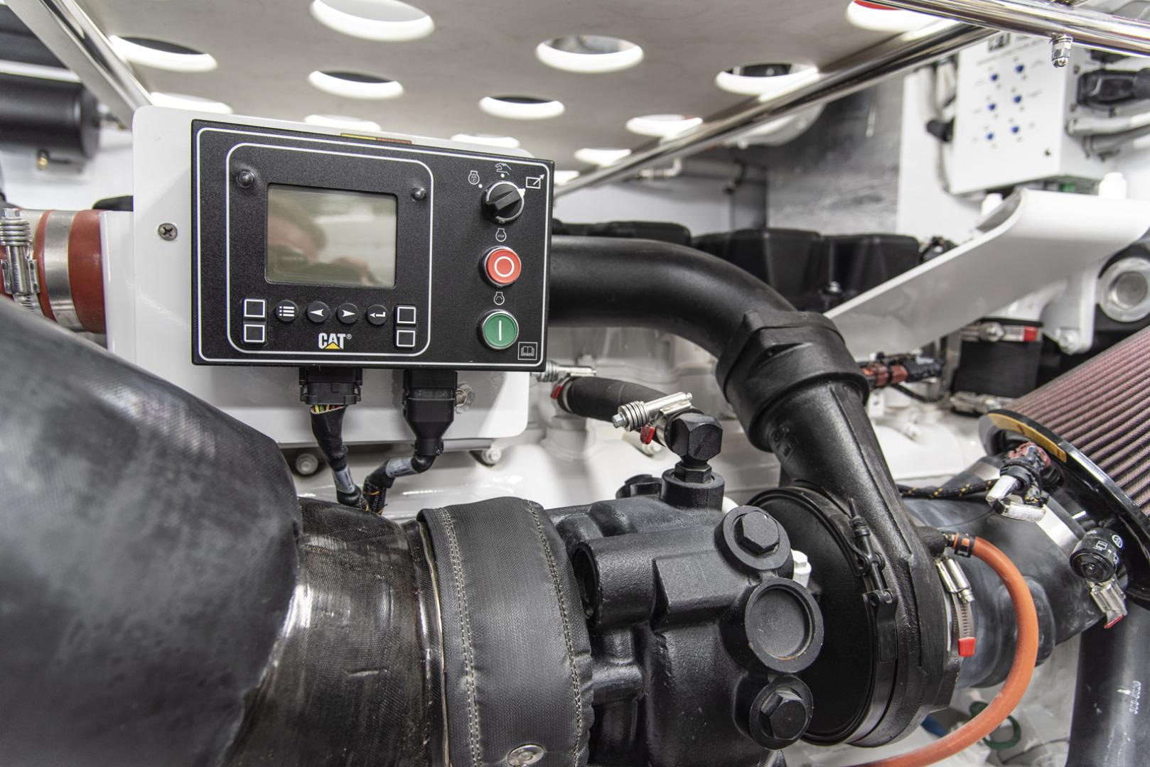 Neptunus-Motor Yacht Express 2018-LIQUID WISDOM Grand Haven-Michigan-United States-Port engine detail-1485026 | Thumbnail