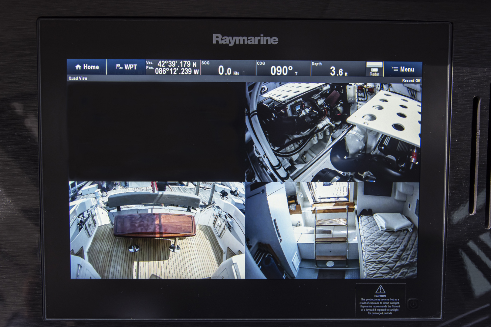 Neptunus-Motor Yacht Express 2018-LIQUID WISDOM Grand Haven-Michigan-United States-CCTVS on MFD-1484972 | Thumbnail