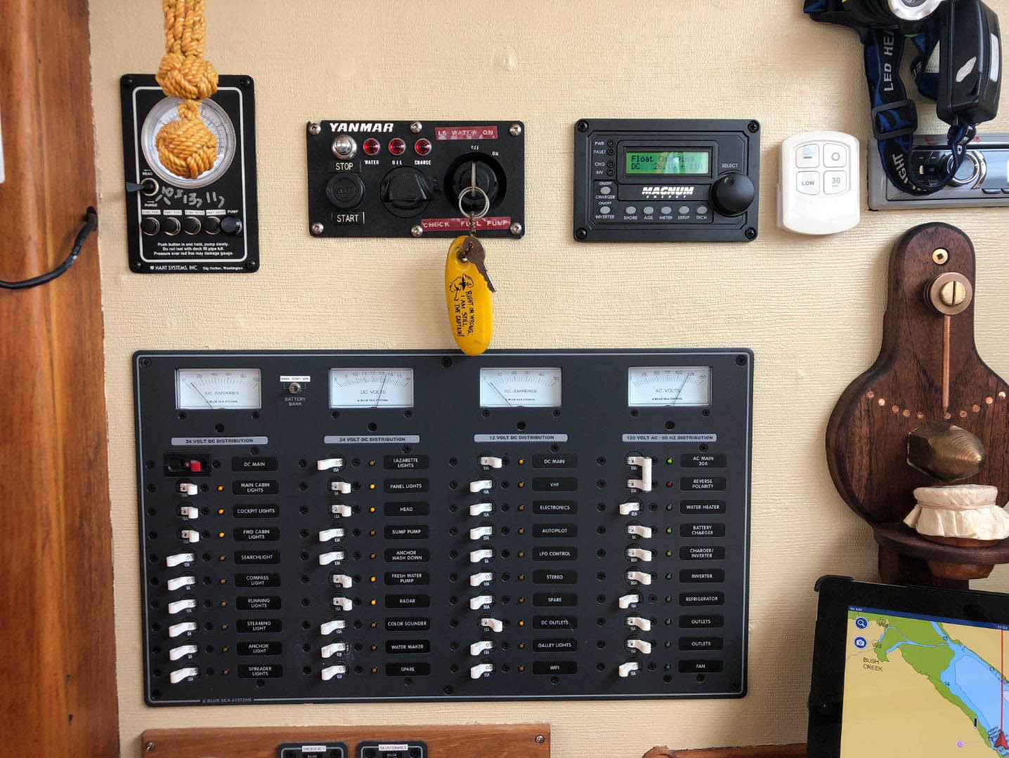 Custom-Bill Garden 1960-Astrocyte Ladysmith-British Columbia-Canada-Electrical Panel-1485952 | Thumbnail