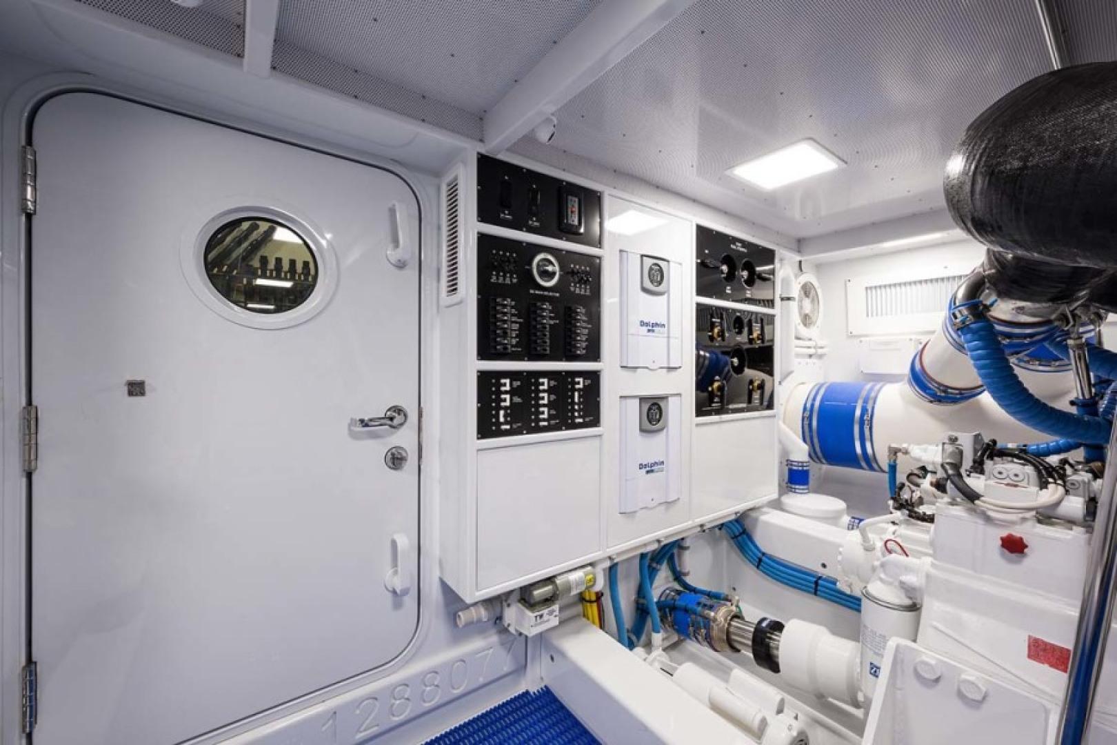 Rybovich-73 Convertible 2018-No Agenda North Palm Beach-Florida-United States-Engine Room-1486397 | Thumbnail