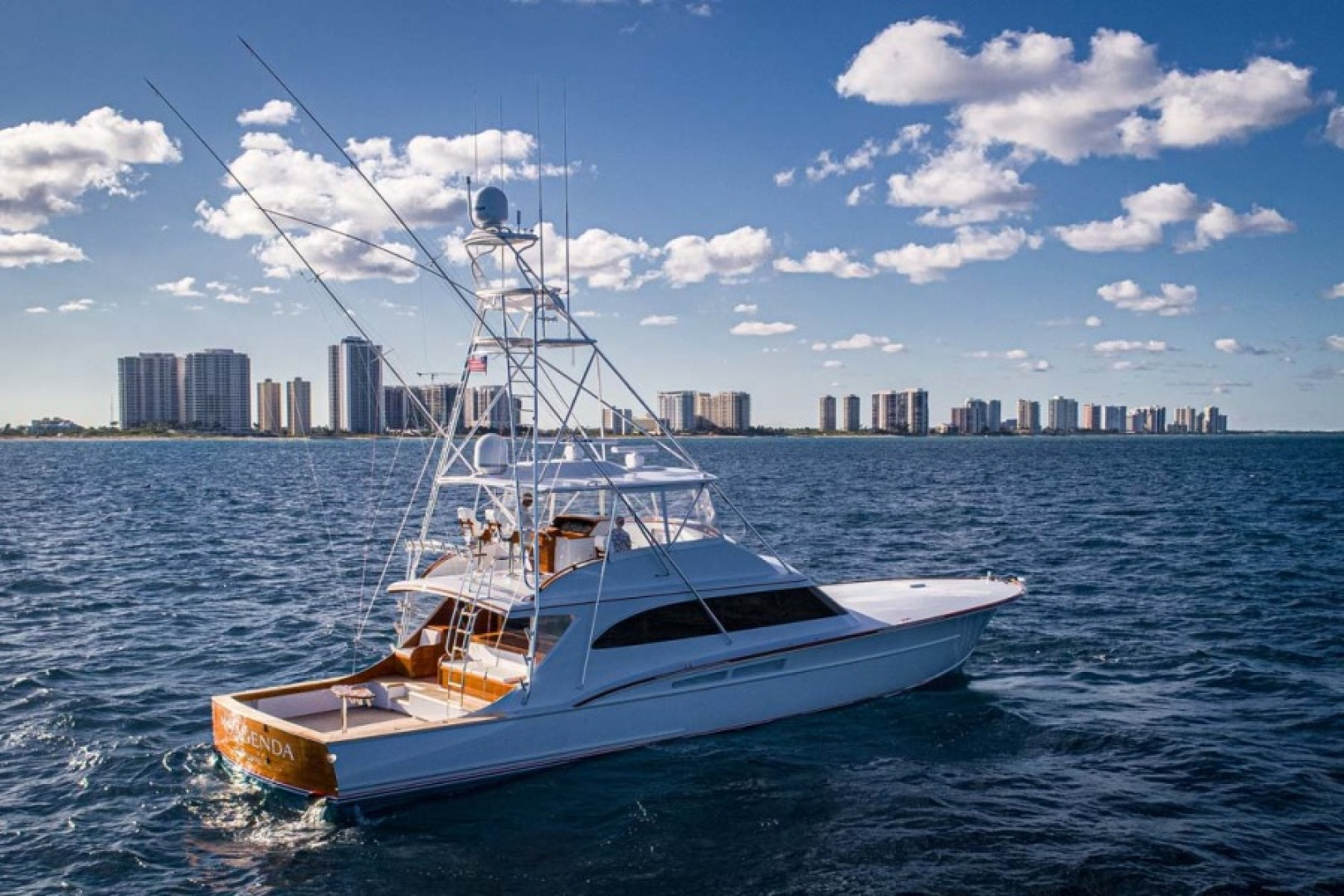 Rybovich-73 Convertible 2018-No Agenda North Palm Beach-Florida-United States-Starboard View-1486408 | Thumbnail