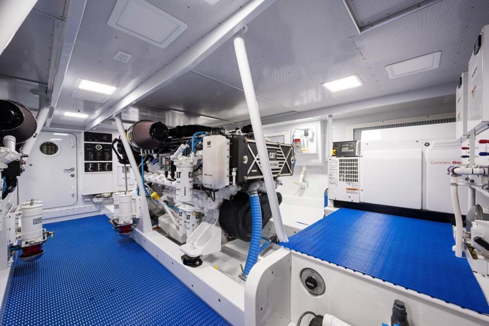 Rybovich-73 Convertible 2018-No Agenda North Palm Beach-Florida-United States-Engine Room-1486394 | Thumbnail