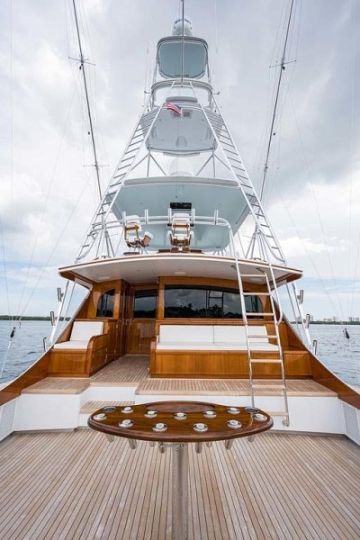 Rybovich-73 Convertible 2018-No Agenda North Palm Beach-Florida-United States-Cockpit and Tower View-1486383 | Thumbnail
