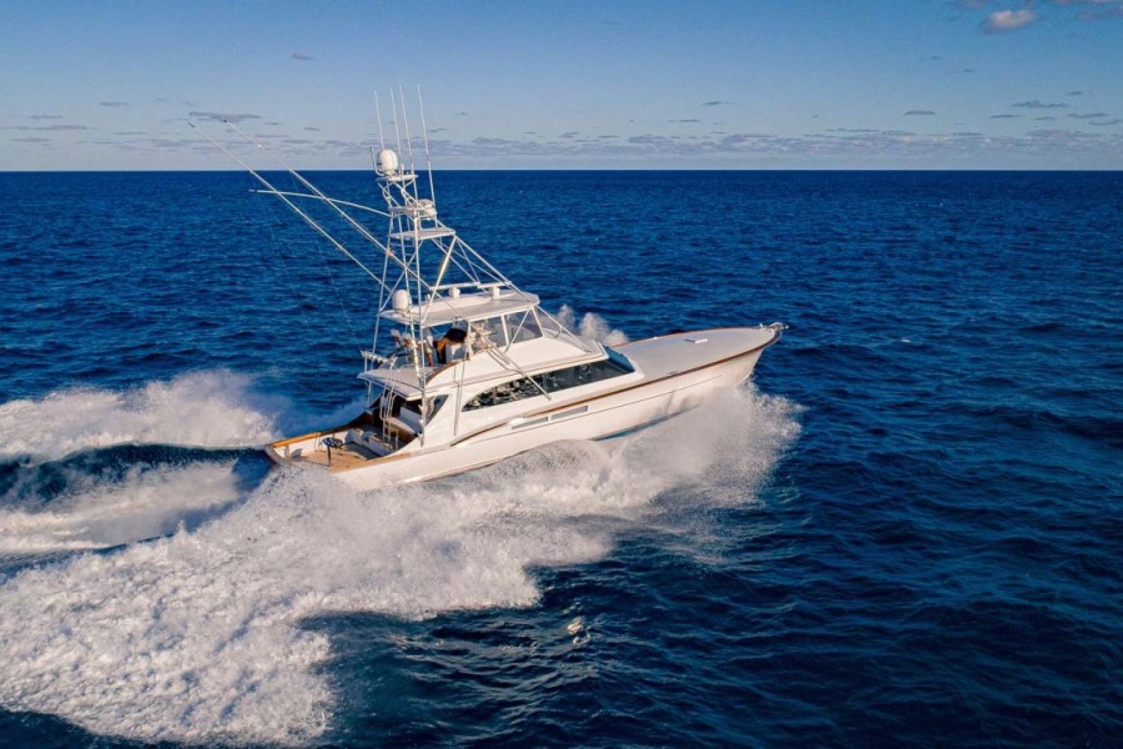 Rybovich-73 Convertible 2018-No Agenda North Palm Beach-Florida-United States-Starboard Running View-1486407 | Thumbnail