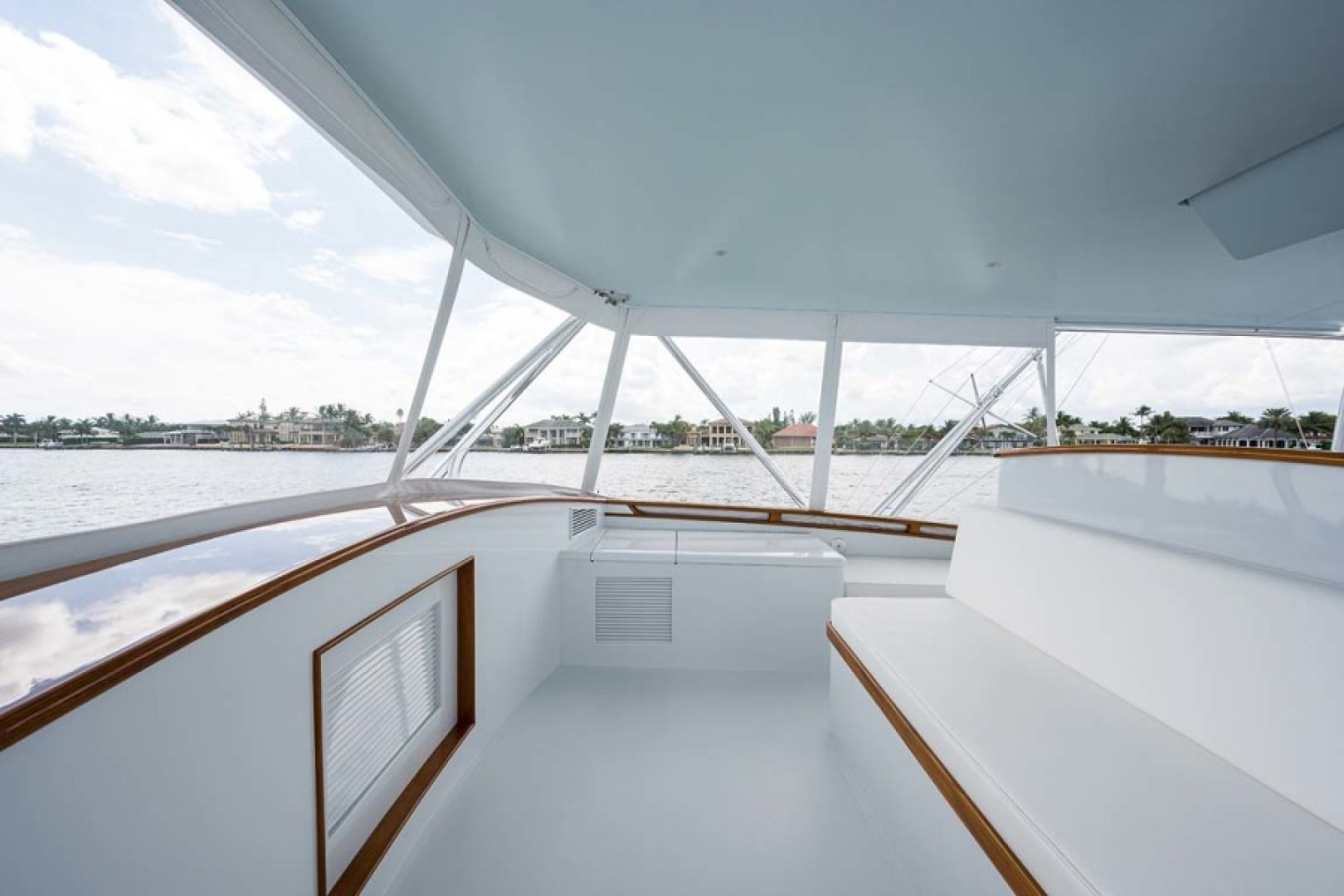 Rybovich-73 Convertible 2018-No Agenda North Palm Beach-Florida-United States-Flybridge Forward Seating to Starboard-1486361 | Thumbnail