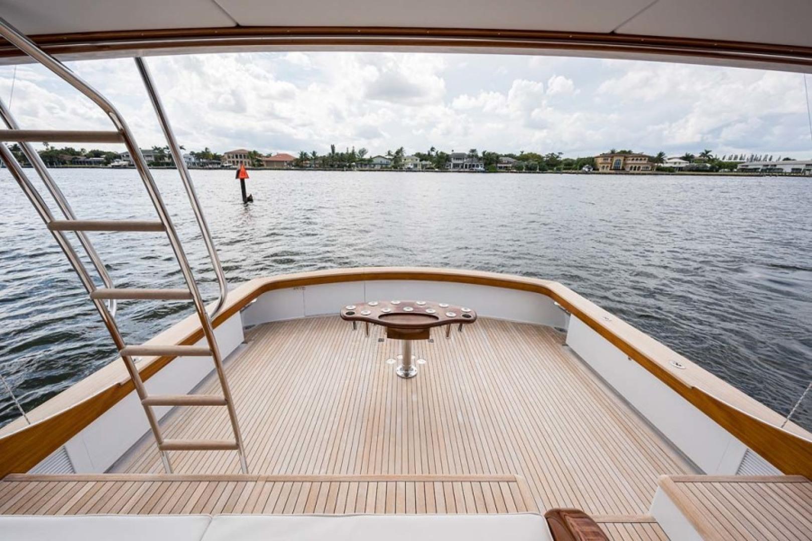 Rybovich-73 Convertible 2018-No Agenda North Palm Beach-Florida-United States-Cockpit View-1486376 | Thumbnail