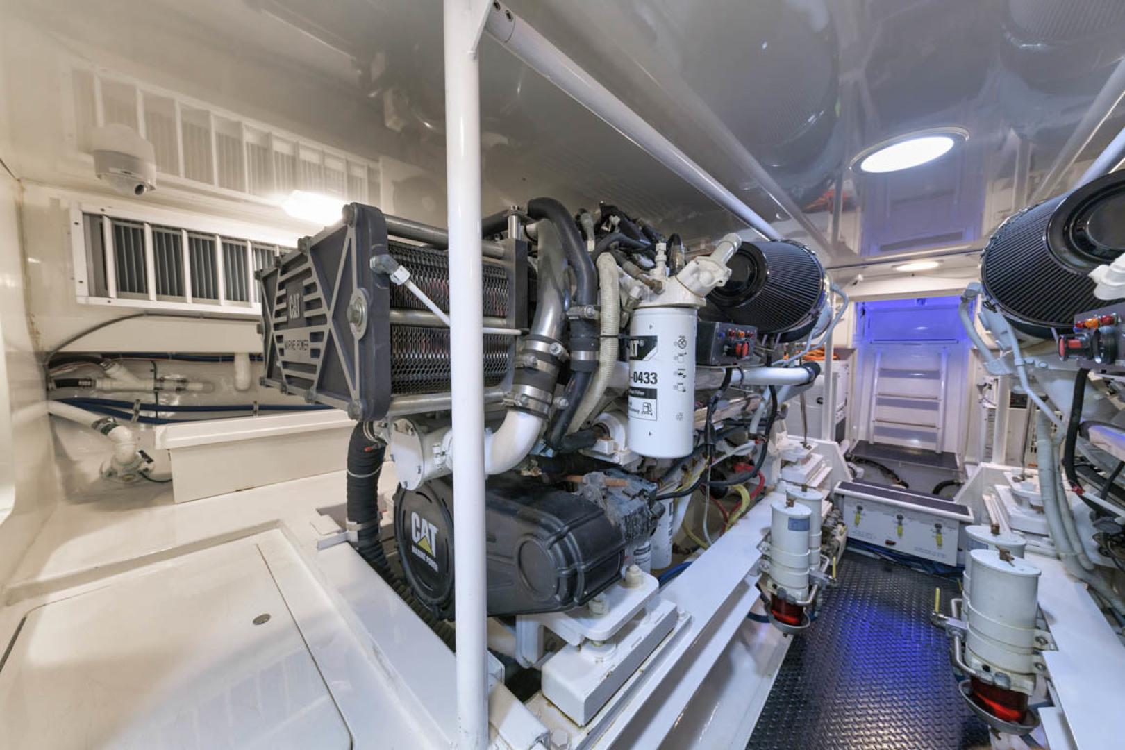 Viking-Convertible 2009-MOLLIE K Key Largo-Florida-United States-Engine Room-1487433 | Thumbnail