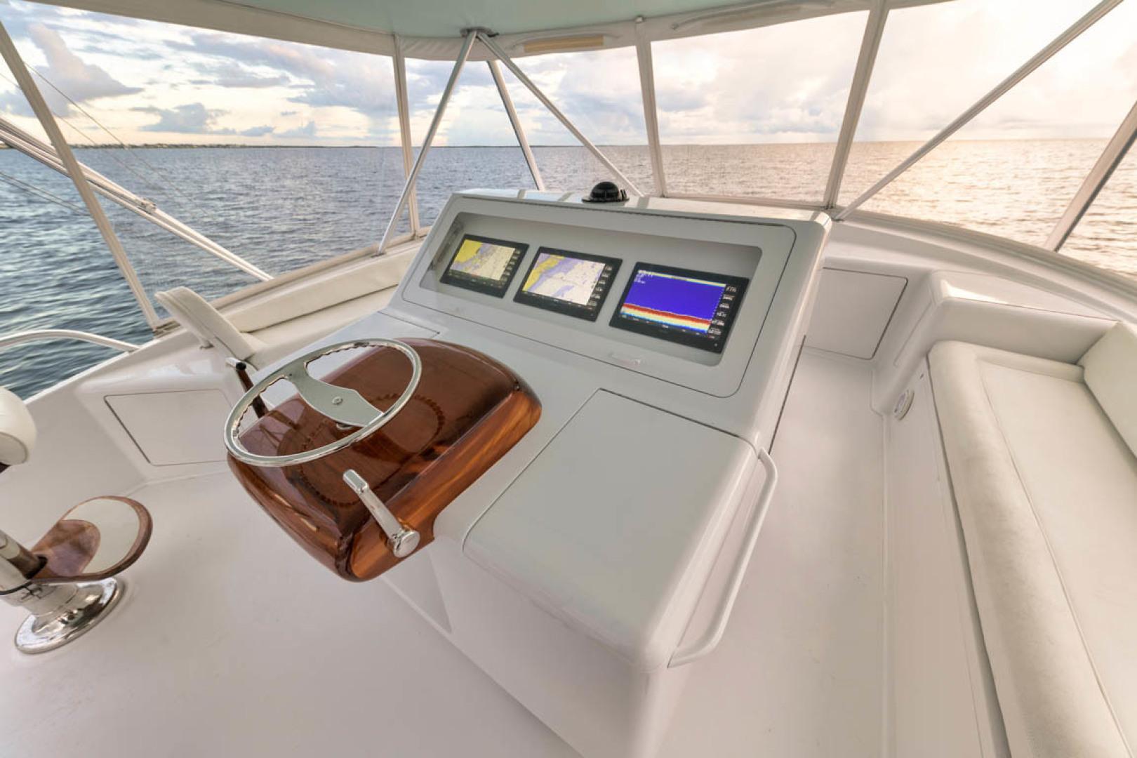 Viking-Convertible 2009-MOLLIE K Key Largo-Florida-United States-Flybridge Starboard Seating-1487413 | Thumbnail