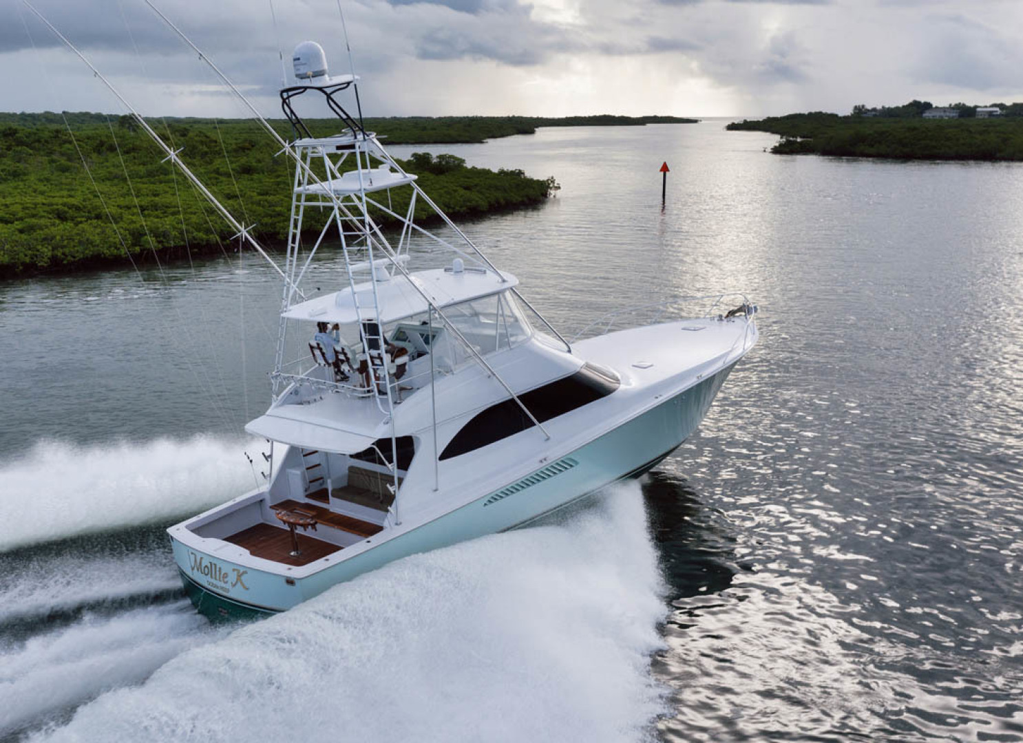 Viking-Convertible 2009-MOLLIE K Key Largo-Florida-United States-Starboard Aft Quarter-1487442 | Thumbnail