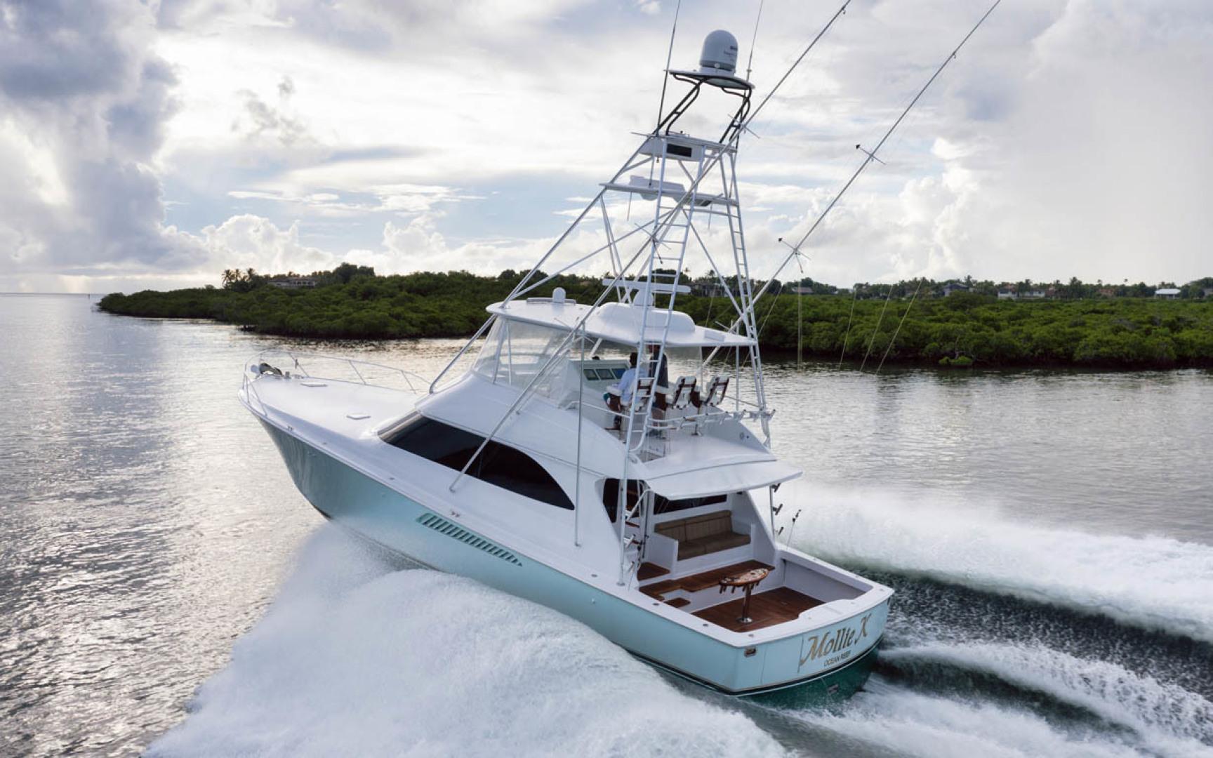 Viking-Convertible 2009-MOLLIE K Key Largo-Florida-United States-Port Aft Quarter-1487440 | Thumbnail