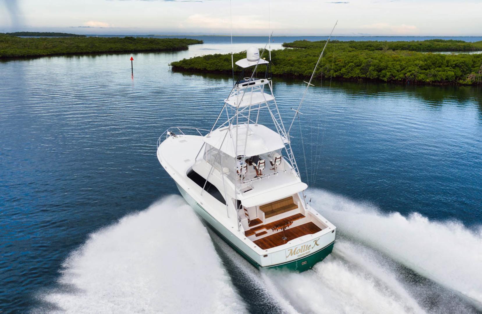 Viking-Convertible 2009-MOLLIE K Key Largo-Florida-United States-Aerial Aft View-1487443 | Thumbnail