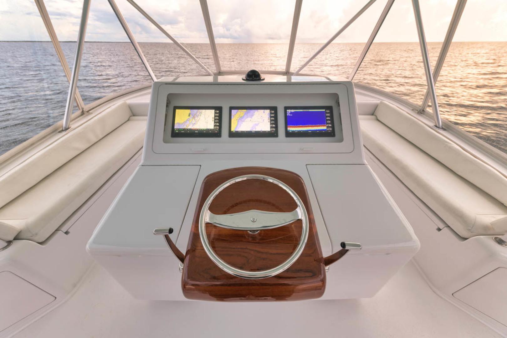 Viking-Convertible 2009-MOLLIE K Key Largo-Florida-United States-Flybridge Helm And Seating-1487412 | Thumbnail