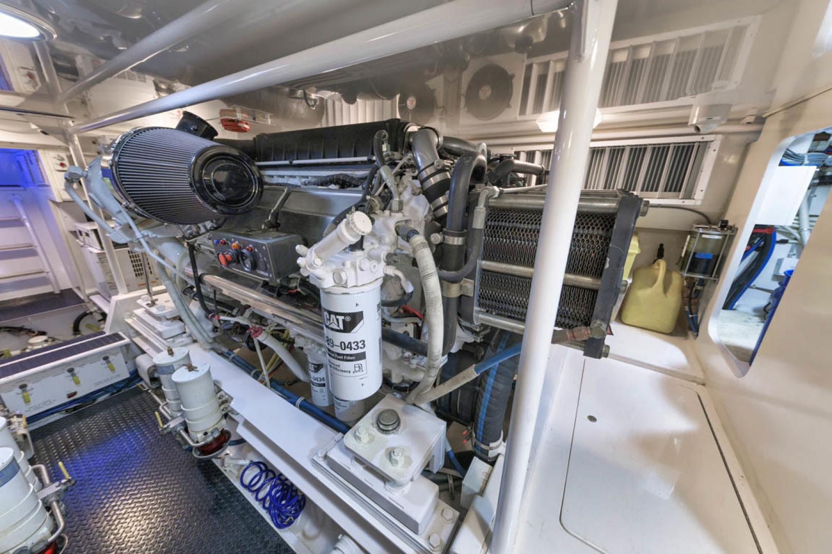 Viking-Convertible 2009-MOLLIE K Key Largo-Florida-United States-Engine Room-1487434 | Thumbnail