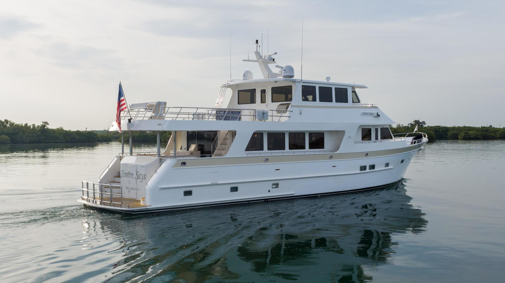 86' Outer Reef Yachts 2017 860 DBMY Simon Says