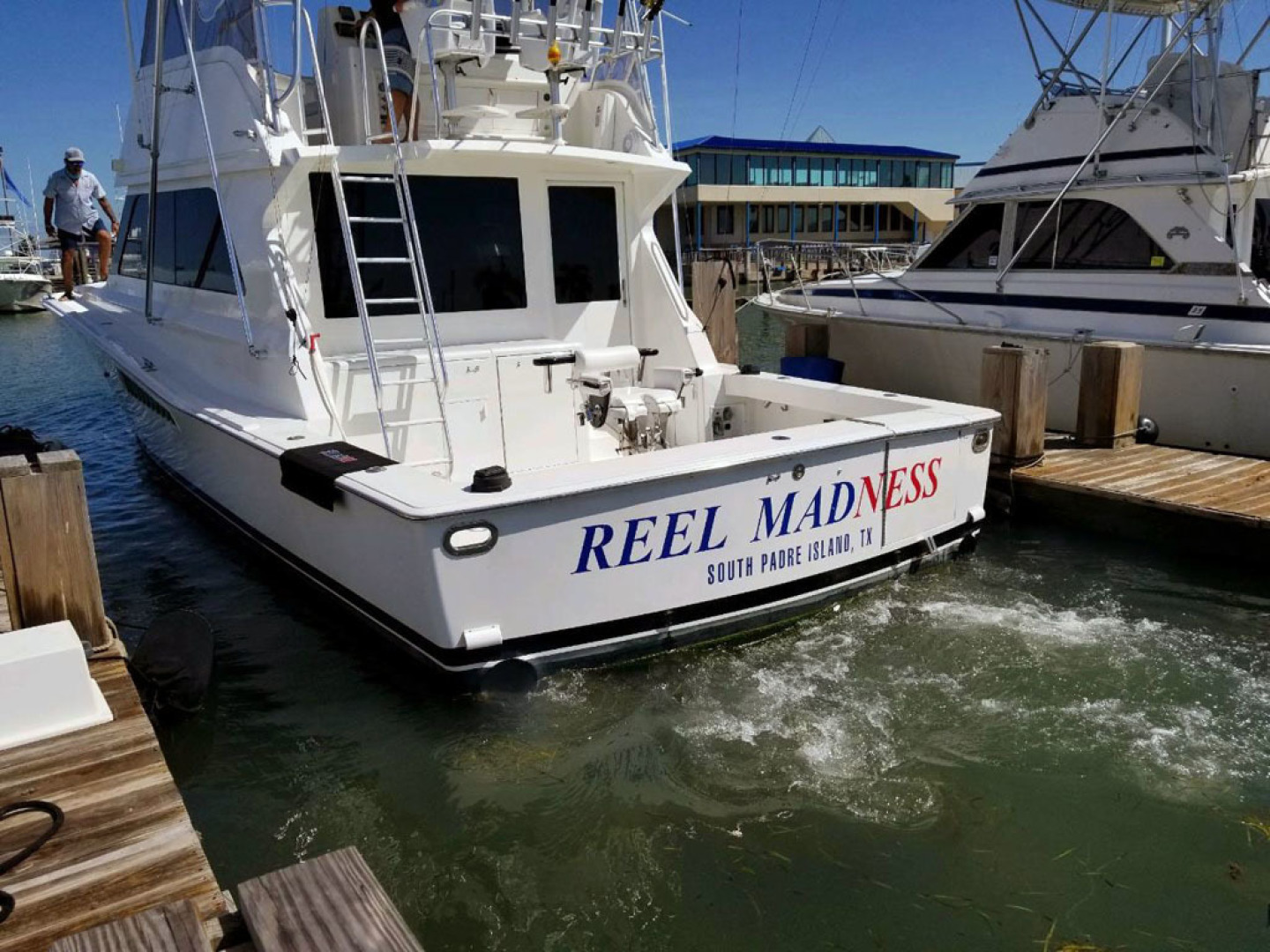 Viking-47 Convertible 1999-Reel Madness South Padre Island-Texas-United States-Stern-1497924 | Thumbnail