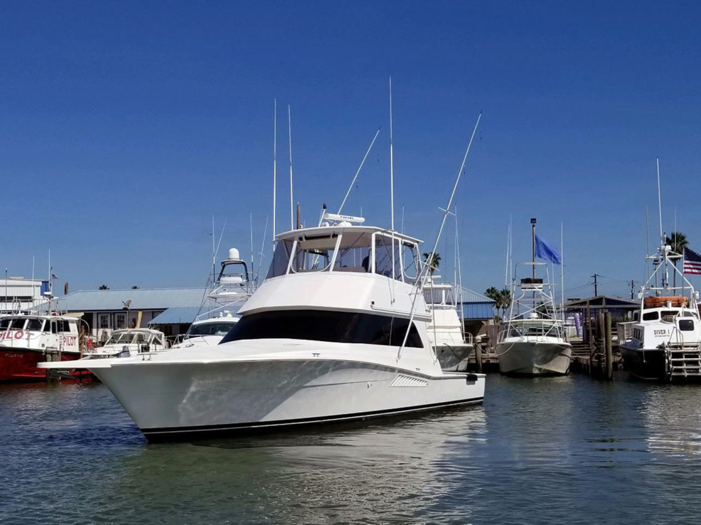 Viking-47 Convertible 1999-Reel Madness South Padre Island-Texas-United States-Port Side-1497926 | Thumbnail