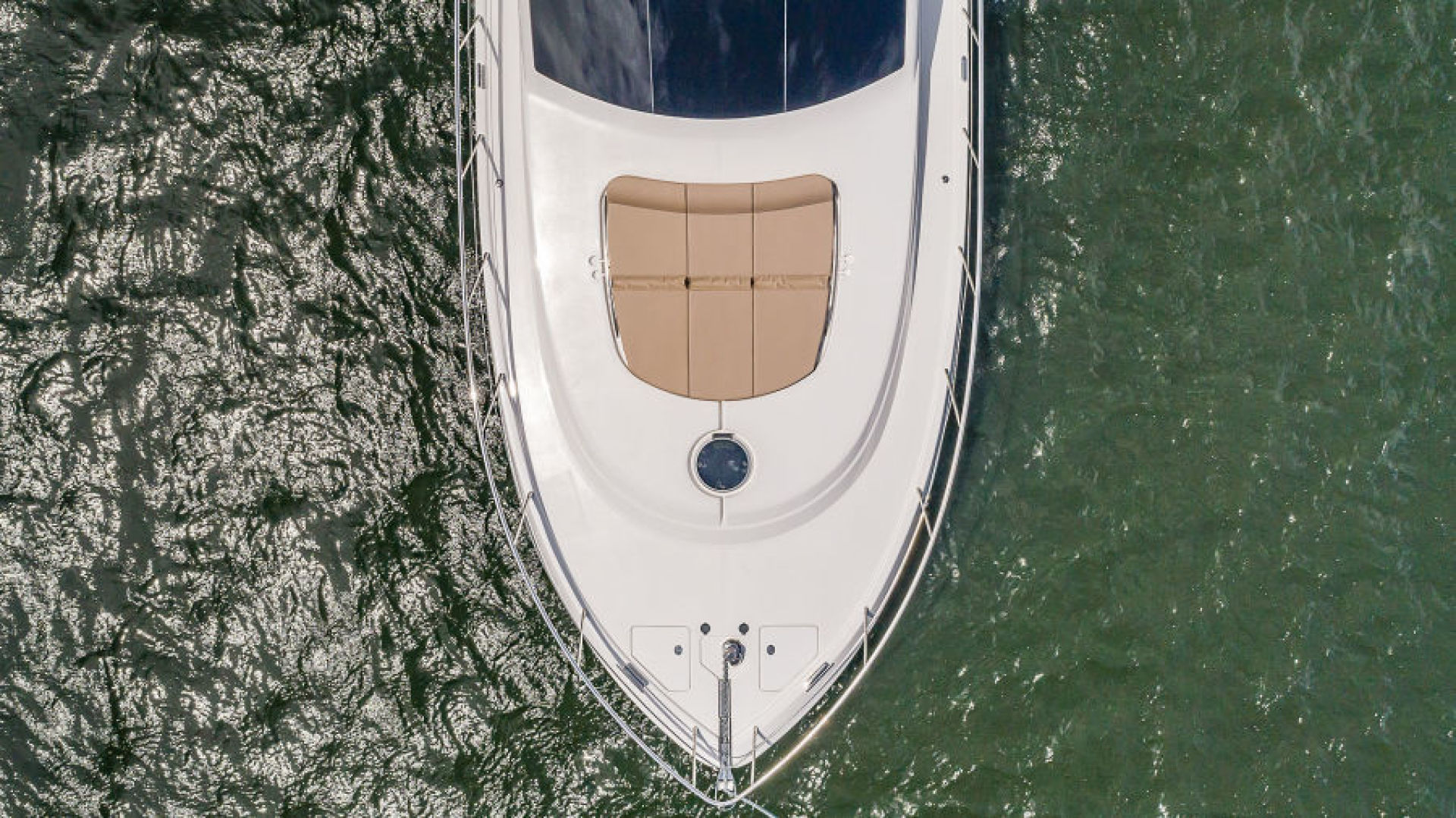 Dyna Yachts-68 Skylounge 2021 -Stuart-Florida-United States-Aerial Bow View-1490035 | Thumbnail