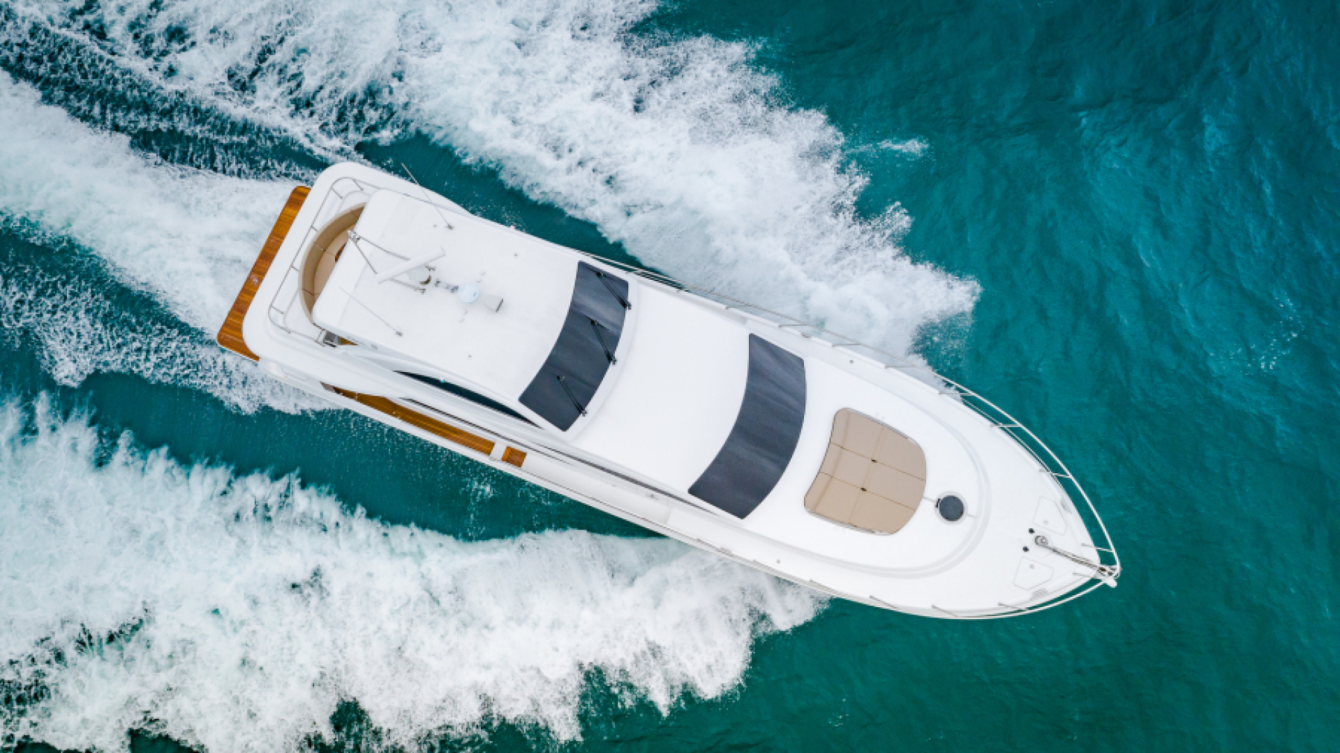 Dyna Yachts-68 Skylounge 2021 -Stuart-Florida-United States-Aerial View-1489998 | Thumbnail