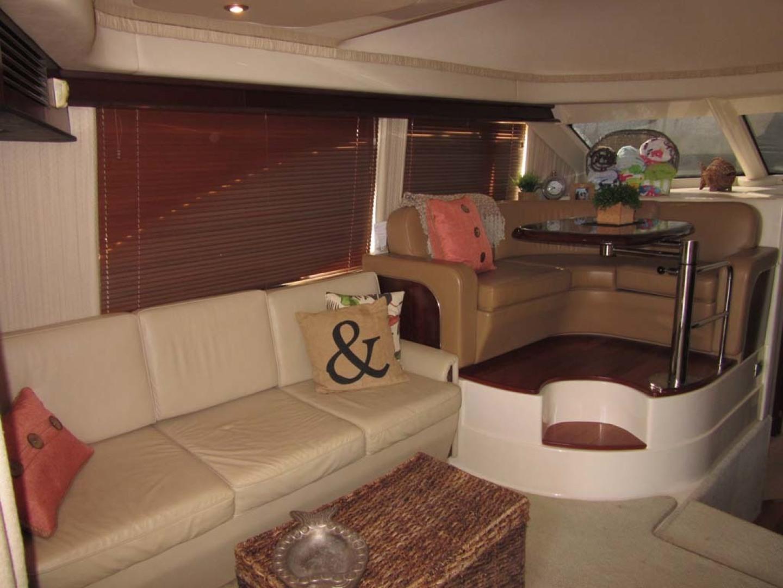 Sea Ray-44 Sedan Bridge 2006-Page Two St Petersburg-Florida-United States-Convertible Sofa Settee Port-1490131 | Thumbnail