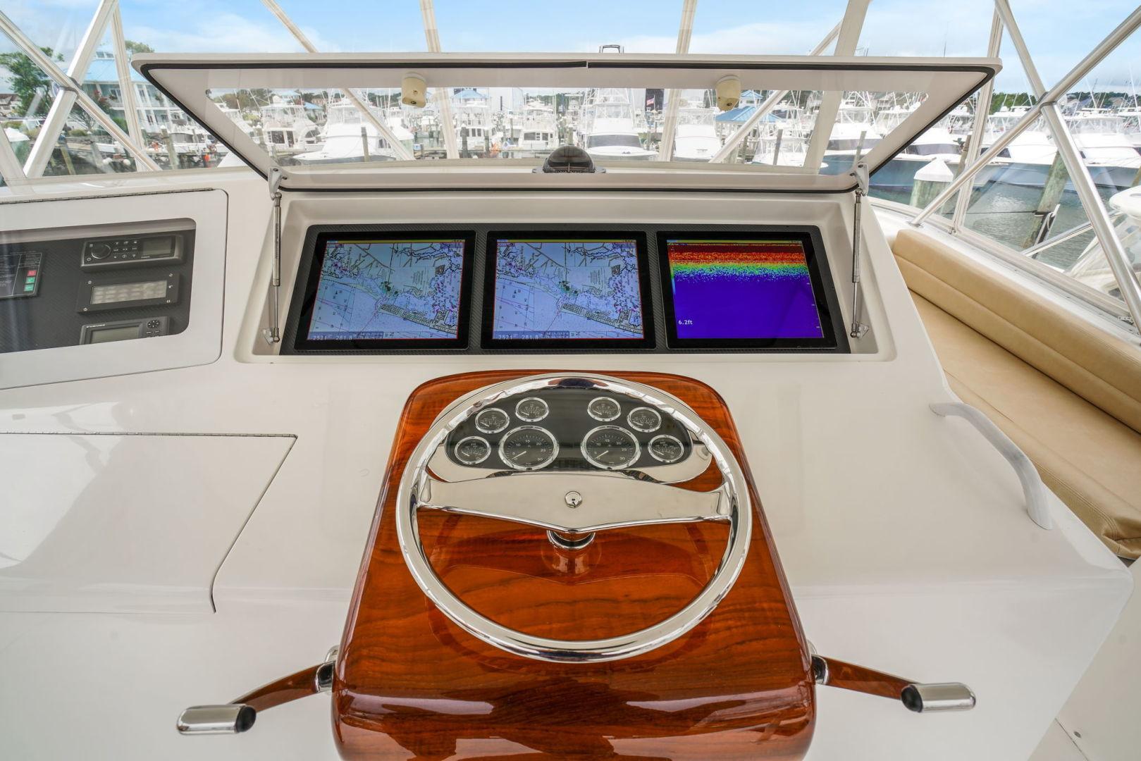Viking-Convertible 2002-Blue Eyes North Palm Beach-Florida-United States-Flybridge-1490360   Thumbnail
