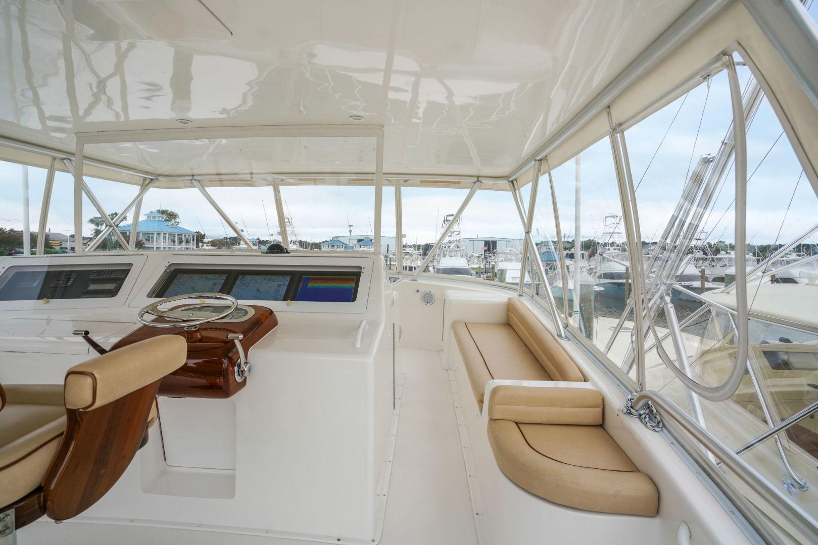 Viking-Convertible 2002-Blue Eyes North Palm Beach-Florida-United States-Flybridge-1490374   Thumbnail