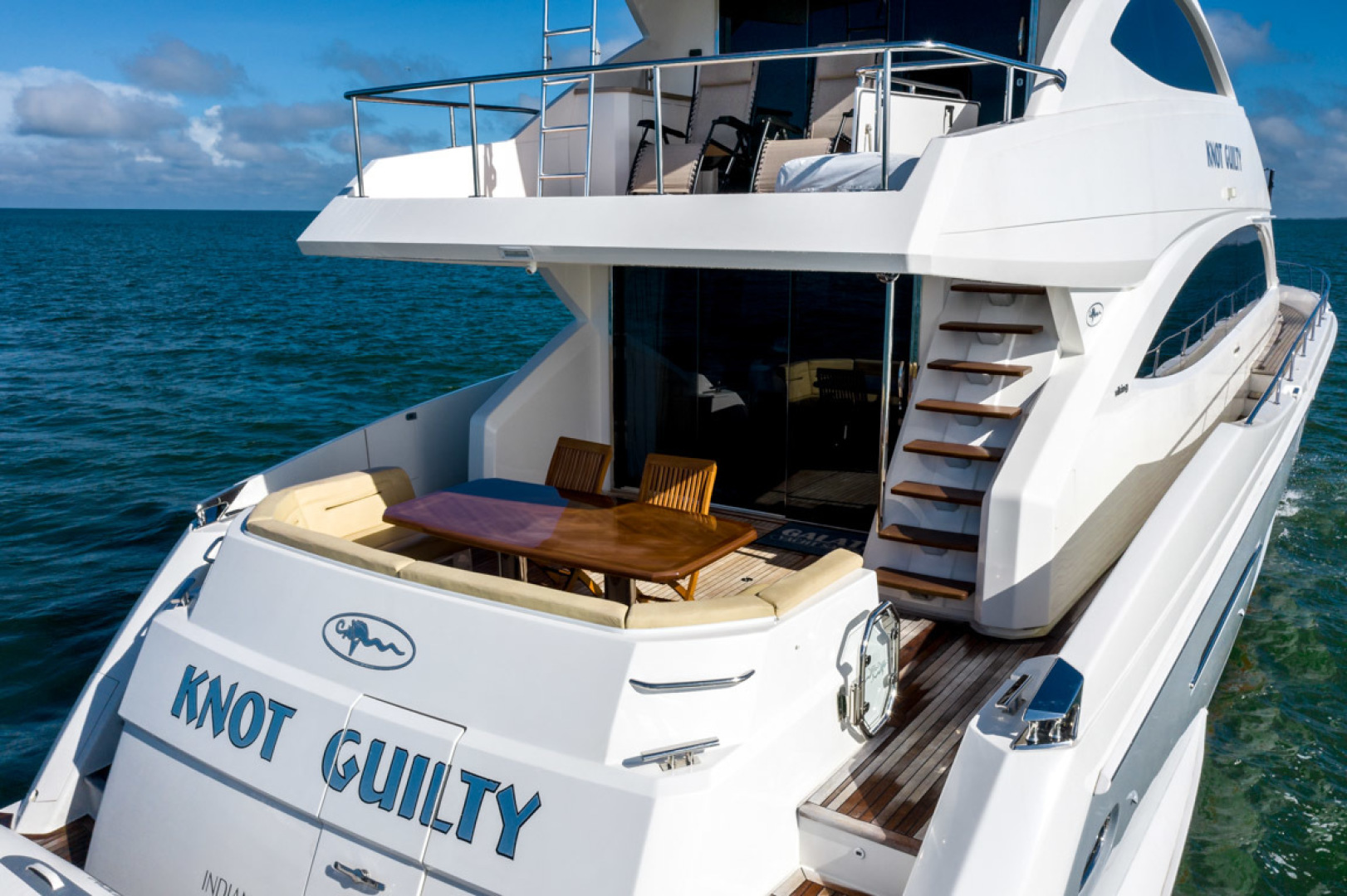 Viking-75 Motor Yacht 2015-Knot Guilty Indian Rocks Beach-Florida-United States-2015 Viking 75 MY Cockpit -1491327 | Thumbnail