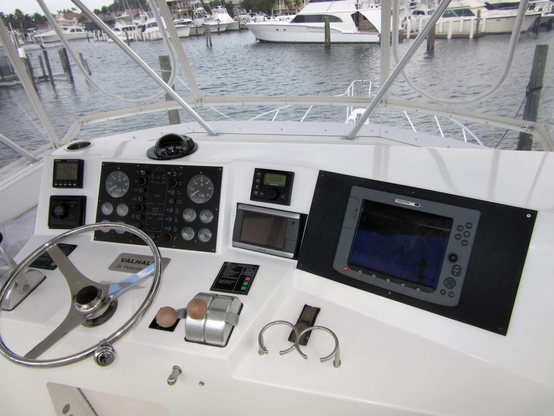 Viking-Flybridge Convertible 2001-VALHALLA Tierra Verde-Florida-United States-Helm Electronics-1492733   Thumbnail