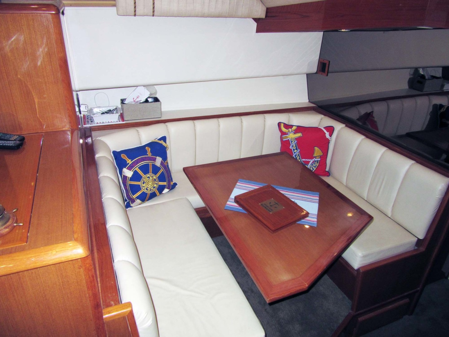 Viking-Flybridge Convertible 2001-VALHALLA Tierra Verde-Florida-United States-Convertible Dinette Port Mid-1492711 | Thumbnail