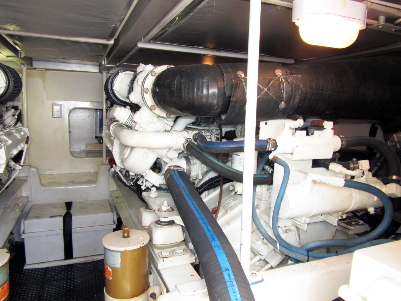 Viking-Flybridge Convertible 2001-VALHALLA Tierra Verde-Florida-United States-Starboard Engine-1492747   Thumbnail