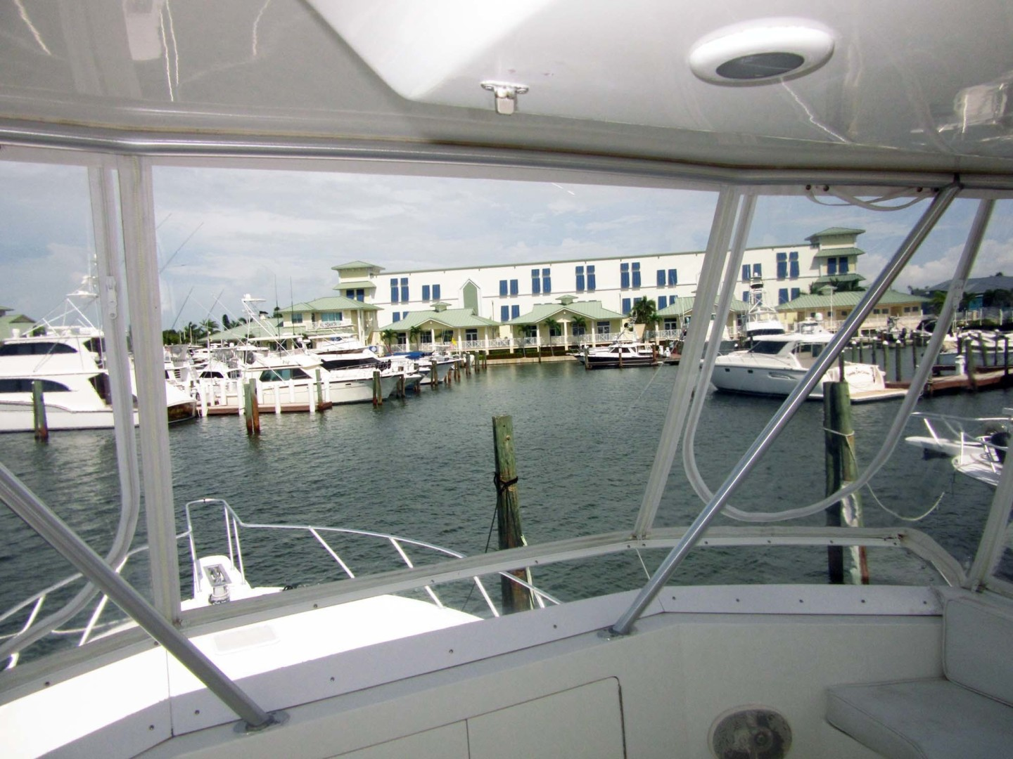 Viking-Flybridge Convertible 2001-VALHALLA Tierra Verde-Florida-United States-Newer Enclosure-1492738 | Thumbnail