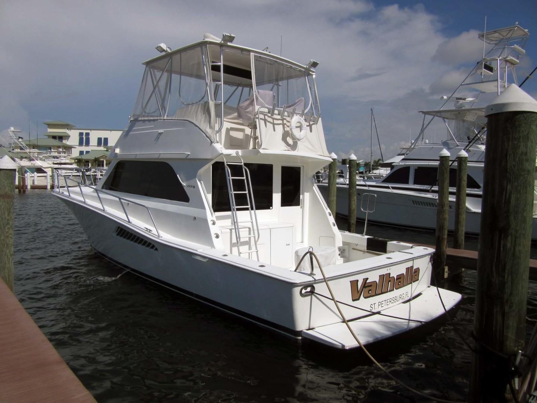 Viking-Flybridge Convertible 2001-VALHALLA Tierra Verde-Florida-United States-Port Profile-1492709   Thumbnail