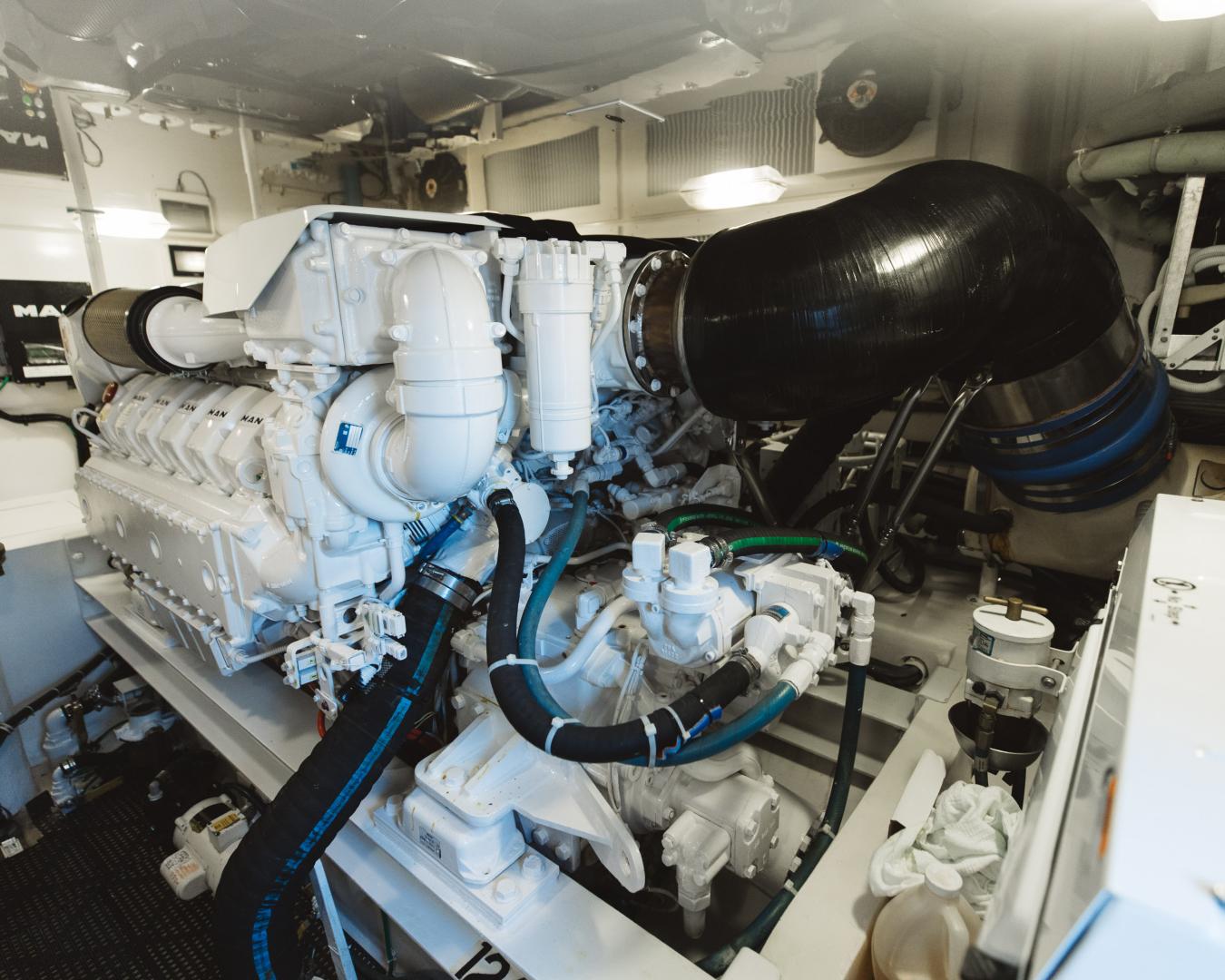 Viking-55 Convertible 2013-Maya Anna Maria-Florida-United States-2013 Viking 55 Convertible  Maya  Engine Room-1568482 | Thumbnail
