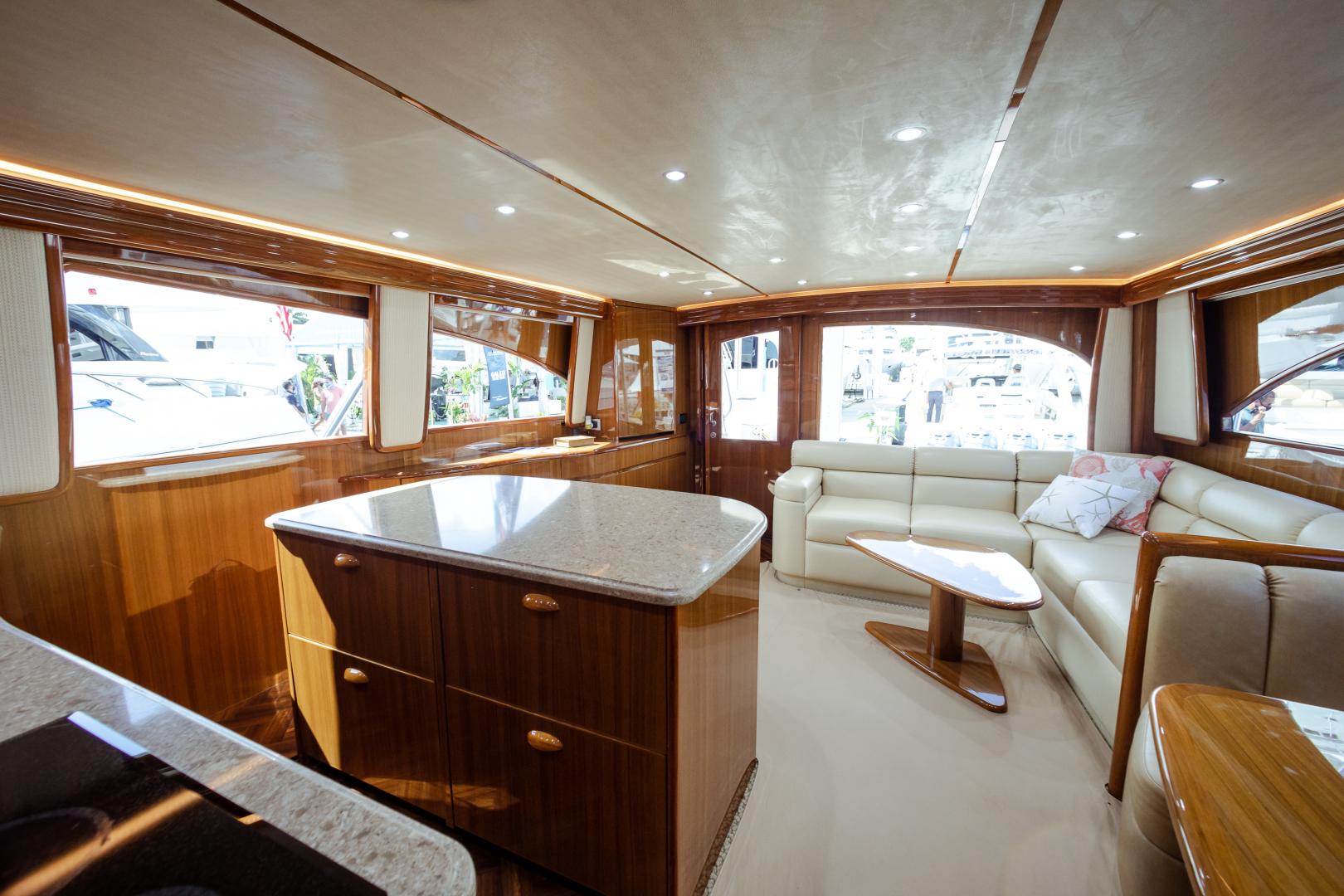 Viking-55 Convertible 2013-Maya Anna Maria-Florida-United States-2013 Viking 55 Convertible  Maya  Galley / Salon-1541878 | Thumbnail
