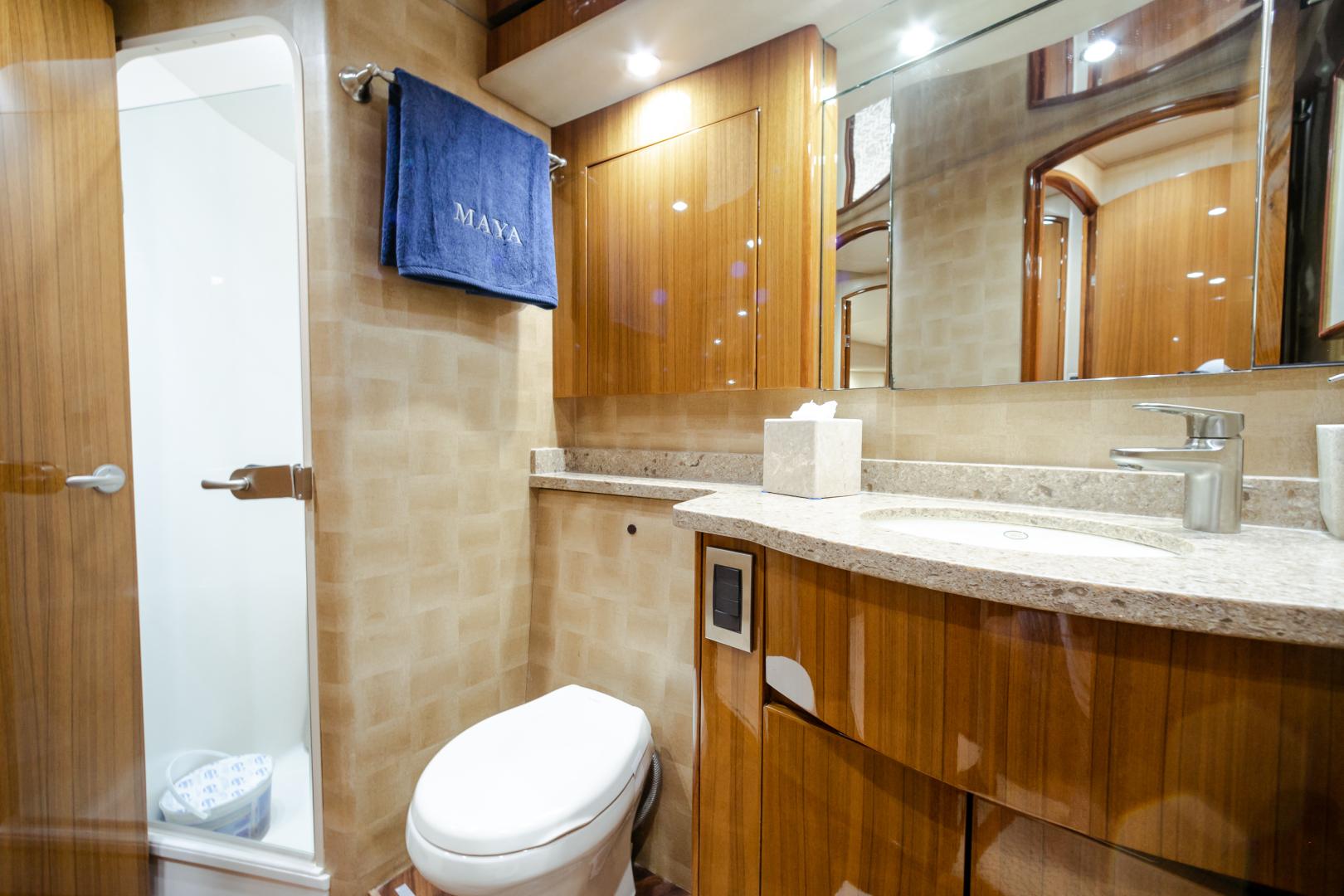 Viking-55 Convertible 2013-Maya Anna Maria-Florida-United States-2013 Viking 55 Convertible  Maya   Guest Head-1541863 | Thumbnail