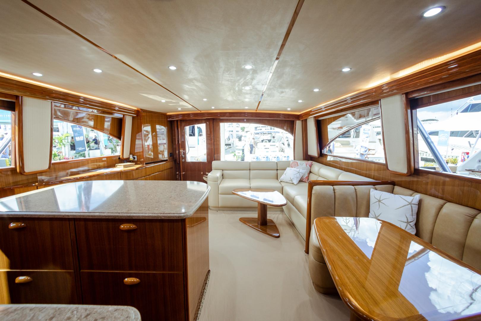 Viking-55 Convertible 2013-Maya Anna Maria-Florida-United States-2013 Viking 55 Convertible  Maya  Galley / Salon-1541879 | Thumbnail