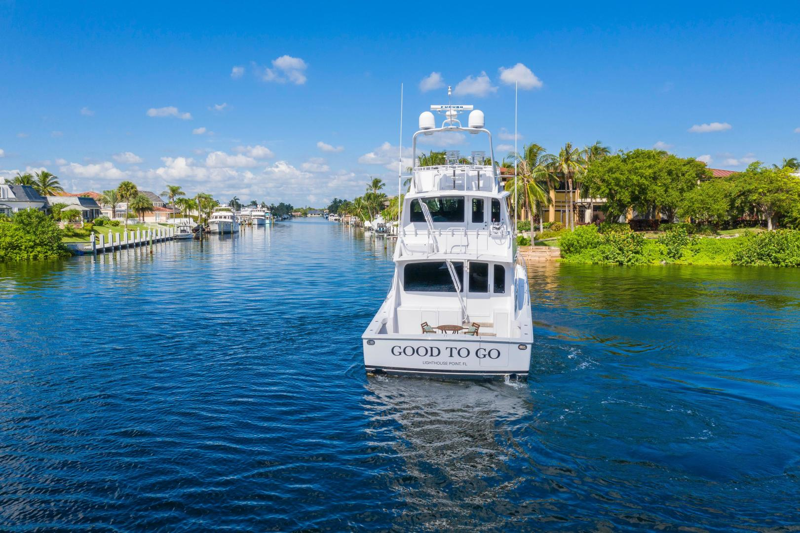 Viking-Enclosed Bridge Convertible 2002-GOOD TO GO Lighthouse Point-Florida-United States-1493908 | Thumbnail