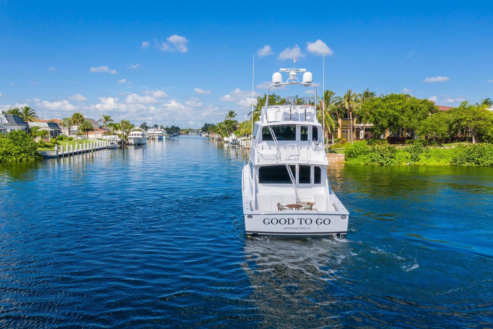 Viking-Enclosed Bridge Convertible 2002-GOOD TO GO Lighthouse Point-Florida-United States-1493906 | Thumbnail