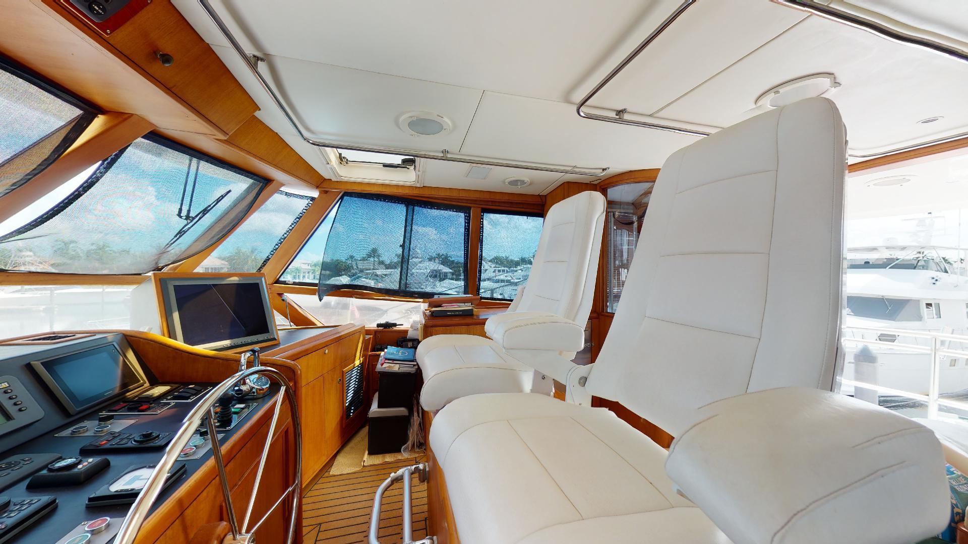 Trinity Yachts-Sportfish 1993-CLEAN SWEEP Jupiter-Florida-United States-Helm Seating-1494707 | Thumbnail