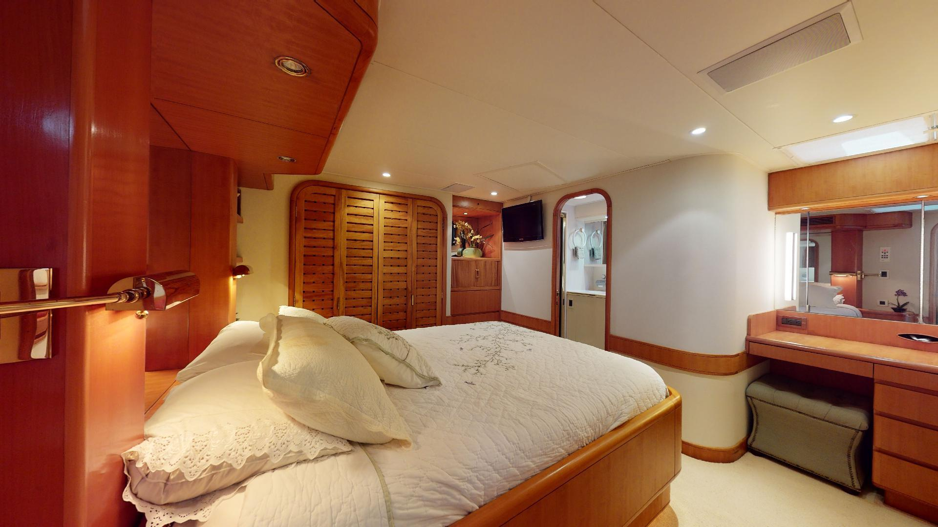 Trinity Yachts-Sportfish 1993-CLEAN SWEEP Jupiter-Florida-United States-Master Stateroom-1494689 | Thumbnail
