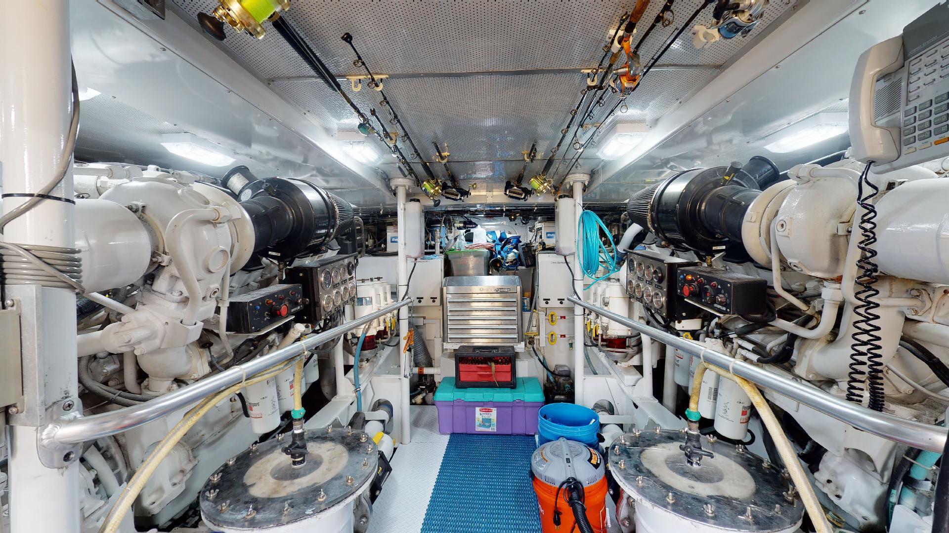 Trinity Yachts-Sportfish 1993-CLEAN SWEEP Jupiter-Florida-United States-Engine Room-1494705 | Thumbnail