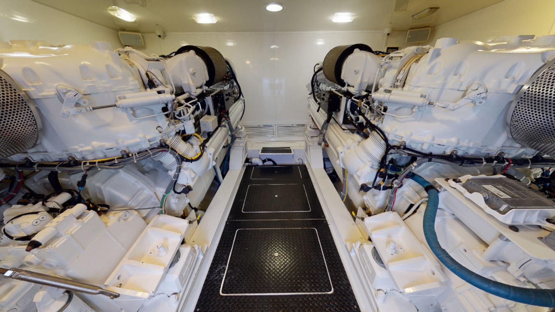 Viking-82 Convertible 2010-NINA MARIE Jupiter-Florida-United States-Engine Room-1495841 | Thumbnail