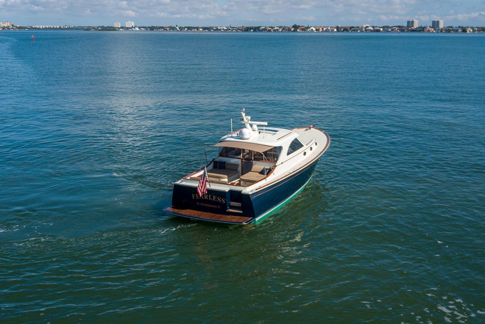 San Juan-SJ48 Express 2006 FEARLESS Saint Petersburg-Florida-United States-Stern profile 2-1508123 | Thumbnail