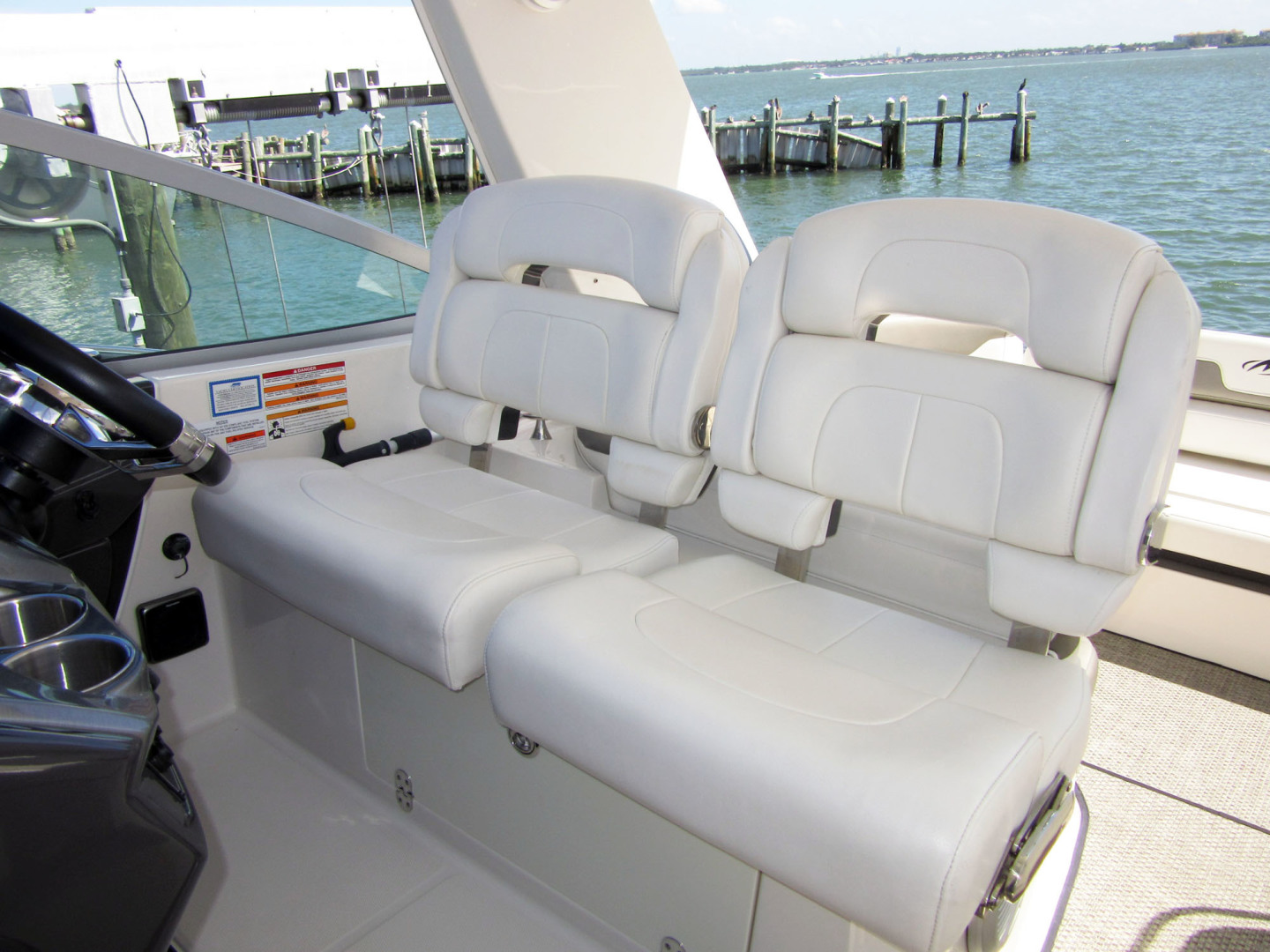 Monterey-355 Sport Yacht 2014-Sunset Serenity St. Petersburg-Florida-United States-Bolsters Down-1498598 | Thumbnail
